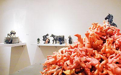 タムラサトル展 Weight Sculptures