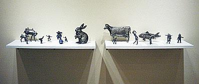 タムラサトル展 Weight Sculptures returns