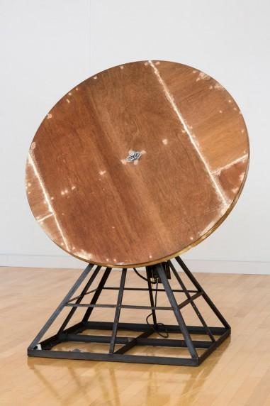 回転する木の円盤 #6