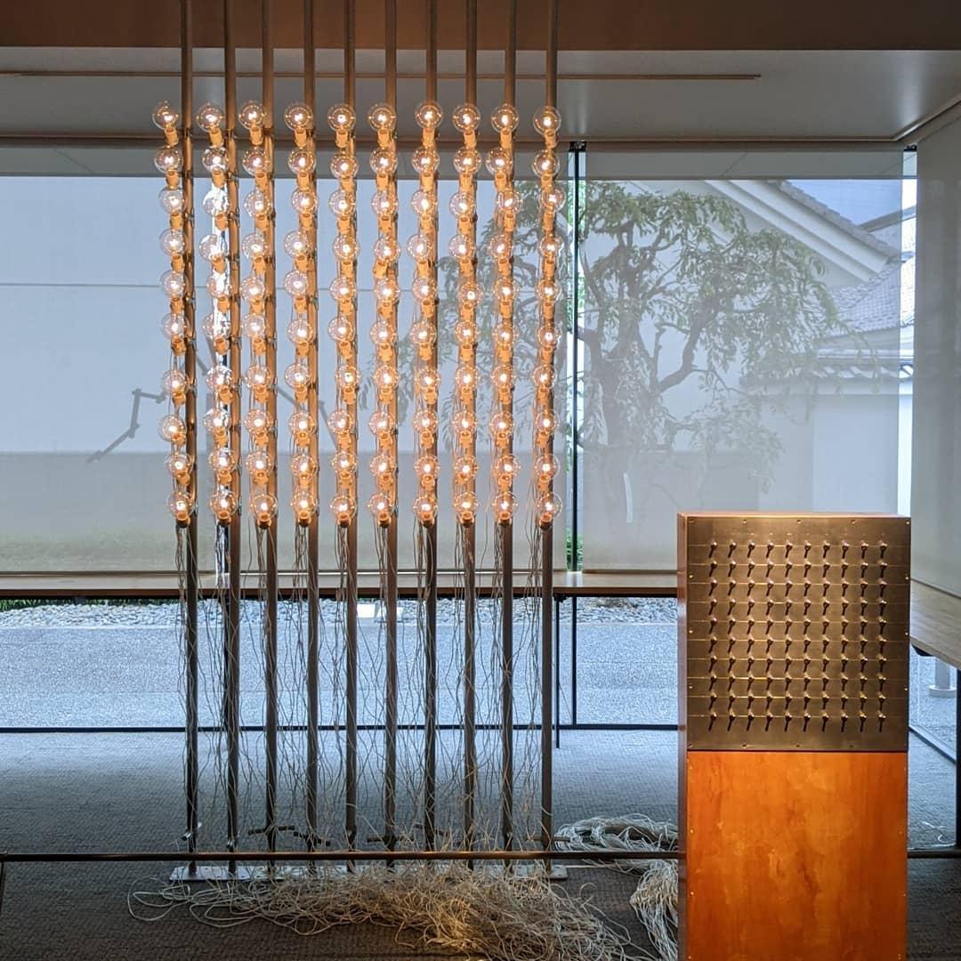タムラサトル展 100の白熱灯のための100のスイッチ #5