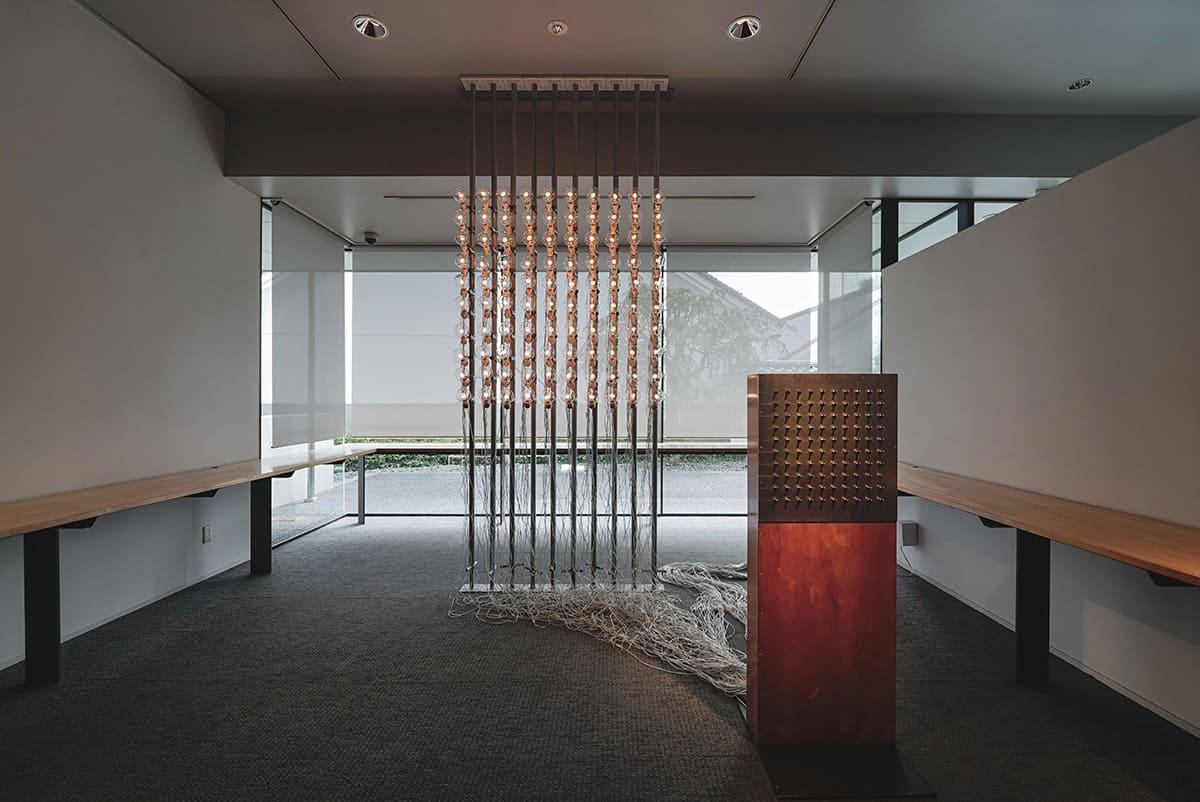 タムラサトル展 100の白熱灯のための100のスイッチ #5 川越市立美術館